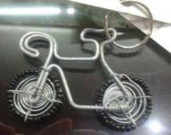 cycle keyring