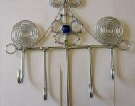 wire coat rack