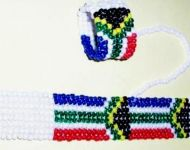 SA flag bracelets with ring