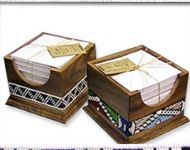 beaded note boxes